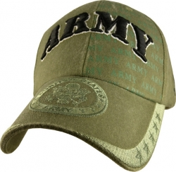 View Buying Options For The US Army with Eagle Washed Emblem Mens Cap