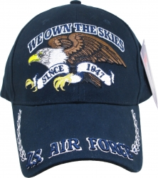 View Buying Options For The US Air Force We Own The Skies with Eagle Mens Cap