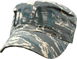View Buying Options For The US Air Force 4-Letter Flat Top Mens Cadet Cap