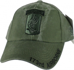 View Buying Options For The 173rd Airborne Brigade Tonal Color Insignia Mens Cap