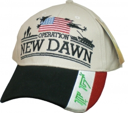 View Buying Options For The Operation New Dawn Silhouette Flag Bill Mens Cap