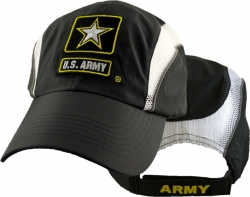 View Buying Options For The U.S. Army Strong Star Logo Golf Style Low-Profile Mens Mesh Cap
