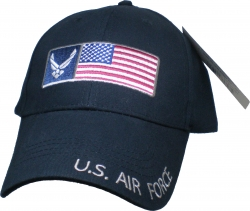 View Buying Options For The U.S. Air Force with Flag Mens Cap