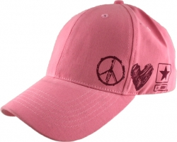 View Buying Options For The US Army Peace Love Emblem Girls Cap