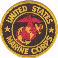 View Buying Options For The United States Marine Corps Emblem Round Iron-On Patch