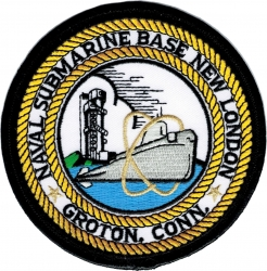 View Buying Options For The Naval Submarine Base New London Groton Connecticut Iron-On Patch
