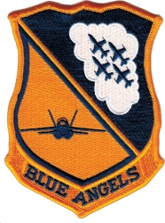 View Buying Options For The Blue Angels Insignia Iron-On Patch