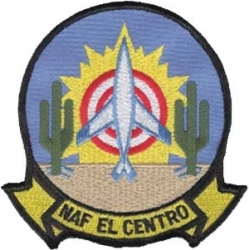 View Buying Options For The N.A.F. El Centro Iron-On Patch