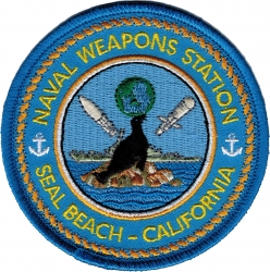 View Buying Options For The Naval Weapons Station Seal Beach California Iron-On Patch