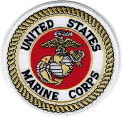 View Buying Options For The United States Marine Corps Iron-On Patch