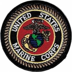 View Buying Options For The United States Marine Corps Color Globe Iron-On Patch