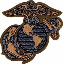View Buying Options For The Marines Globe & Anchor Subdued Cut-Out Iron-On Patch