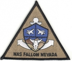 View Buying Options For The N.A.S. Fallon Nevada Iron-On Patch