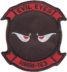 View Buying Options For The HMM-163 Evil Eyes 2-Piece (H&L) Velcro Attachment Patch
