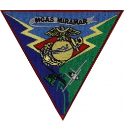 View Buying Options For The MCAS Miramar Triangle Iron-On Patch