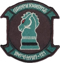 View Buying Options For The VMFAAW-121 Green Knights 2-Piece (H&L) Velcro Attachment Patch