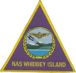 View Buying Options For The N.A.S. Whidbey Island Iron-On Patch