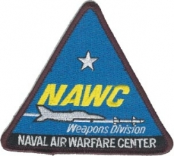 View Buying Options For The NAWC Naval Air Warfare Center Weapons Division Iron-On Patch