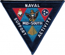 View Buying Options For The Naval Support Activity Mid-South Iron-On Patch
