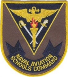 View Buying Options For The Naval Aviation Schools Command Iron-On Patch