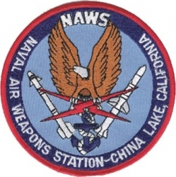 View Buying Options For The N.A.W.S. Naval Air Weapons Station China Lake California Iron-On Patch