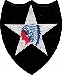 View Buying Options For The 2nd Infantry Division Shoulder Iron-On Patch