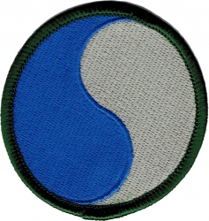 View Buying Options For The 29th Infantry Division Iron-On Patch