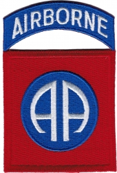 View Buying Options For The 82nd Airborne Division Sew-On Patch