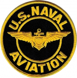 View Buying Options For The U.S. Naval Aviation Iron-On Patch