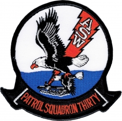 View Buying Options For The VP-30 Patrol Squadron Thirty A.S.W. Iron-On Patch