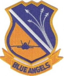 View Buying Options For The Blue Angels Team Insignia Iron-On Patch