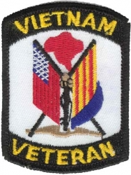 View Buying Options For The Vietnam Veteran Flags Iron-On Patch