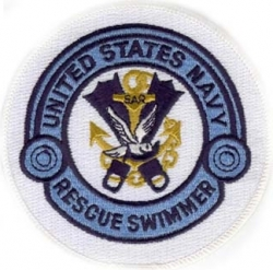 View Buying Options For The United States Navy Rescue Swimmer Iron-On Patch