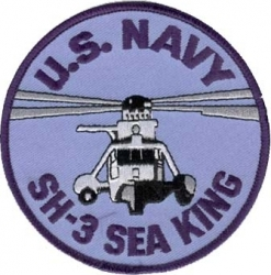 View Buying Options For The U.S. Navy SH-3 Sea King Iron-On Patch