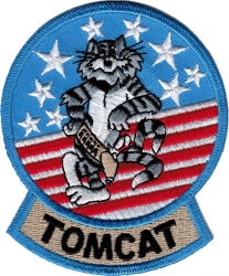 View Buying Options For The F-14 Tomcat Iron-On Patch