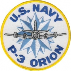 View Buying Options For The U.S. Navy P-3 Orion Iron-On Patch