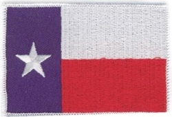 View Buying Options For The Texas State Flag Iron-On Patch