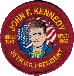 View Buying Options For The John F. Kennedy 35th U.S. President Iron-On Patch