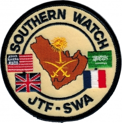View Buying Options For The Southern Watch JTF-SWA Iron-On Patch