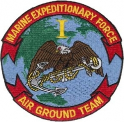 View Buying Options For The 1st Marine Expeditionary Force Iron-On Patch