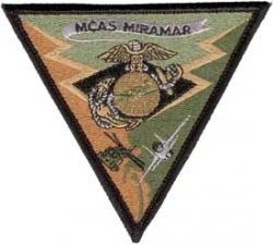 View Buying Options For The MCAS Miramar Subdued Triangle 2-Piece (H&L) Velcro Attachment Patch