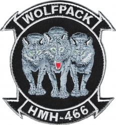 View Buying Options For The HMH-466 Wolfpack 2-Piece (H&L) Velcro Attachment Patch