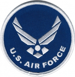 View Buying Options For The US Air Force with Hap Logo Round Iron-On Patch