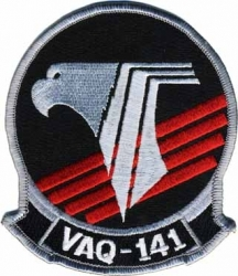 View Buying Options For The VAQ-141 Shadowhawks Iron-On Patch