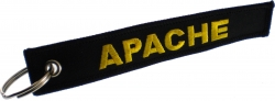 View Buying Options For The Apache RBF Key Ring Pull Tag Embroidered Keychain