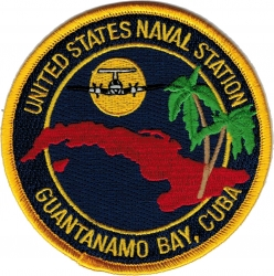 View Buying Options For The United States Naval Station Guantanamo Bay Cuba Iron-On Patch