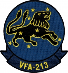 View Buying Options For The VFA-213 Iron-On Patch