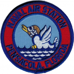View Buying Options For The Naval Air Station Pensacola Florida Iron-On Patch