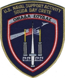 View Buying Options For The U.S. Naval Support Activity Souda Bay Iron-On Patch