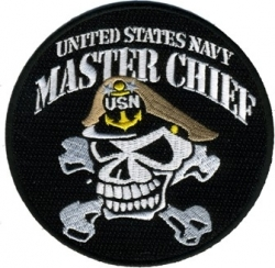 View Buying Options For The United States Navy Master Chief MCPO Iron-On Patch